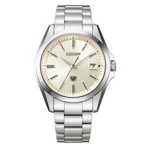 【今ならパスポートケースプレゼント】 ザ・シチズン The CITIZEN AQ4060-50A 高精度エコドライブ 正規品 腕時計 tokeikan