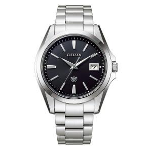 【今ならパスポートケースプレゼント】 ザ・シチズン The CITIZEN AQ4060-50E 高精度エコドライブ 正規品 腕時計|tokeikan