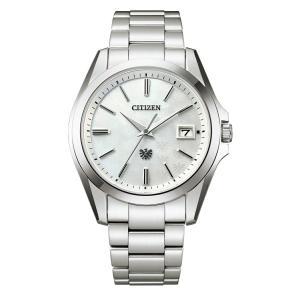 【今ならパスポートケースプレゼント】 ザ・シチズン The CITIZEN AQ4060-50W 高精度エコドライブ 300本限定 正規品 腕時計|tokeikan
