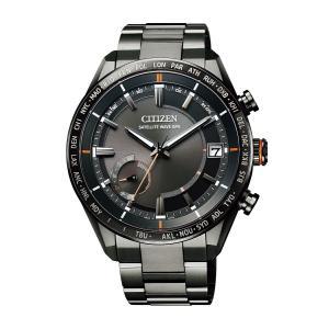 アテッサ ATTESA シチズン CITIZEN 正規メーカー延長保証付き CC3085-51E GPS衛星電波受信 ブラックチタンシリーズ 正規品 腕時計|tokeikan