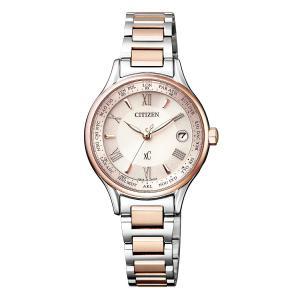 【今ならポーチプレゼント】 クロスシー XC シチズン CITIZEN 正規メーカー延長保証付き EC1165-51W 電波時計 正規品 腕時計|tokeikan