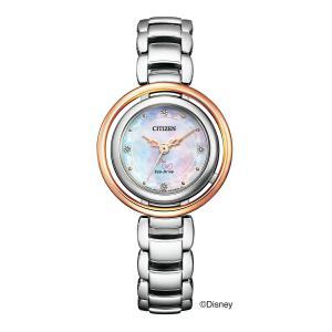 シチズン エル CITIZEN L 正規メーカー延長保証付き EM0665-57W 『DISNEY MARIE』 オリジナル 限定500本 正規品 腕時計|tokeikan