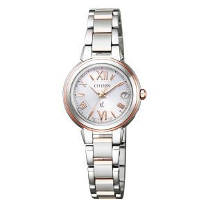 【今ならポーチプレゼント】 クロスシー XC シチズン CITIZEN 正規メーカー延長保証付き ES9434-53W 電波時計 正規品 腕時計|tokeikan