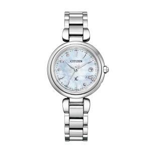 【今ならポーチプレゼント】 クロスシー XC シチズン CITIZEN 正規メーカー延長保証付き ES9461-51W 限定 正規品 腕時計|tokeikan