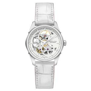 正規品 HAMILTON ハミルトン H32405811 ジャズマスター ビューマチック スケルトン レディ オート 腕時計|tokeikan