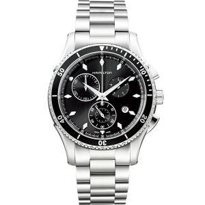 ハミルトン HAMILTON H37512131 Jazzmaster Seaview Chrono Quartz ジャズマスター シービュー クロノ クォーツ 正規品 腕時計|tokeikan