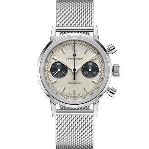 ハミルトン HAMILTON H38429110 イントラマティック クロノグラフ H 正規品 腕時計|tokeikan