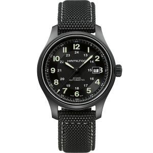 ハミルトン HAMILTON H70575733 カーキ フィールド チタニウム オート 42mm 正規品 腕時計|tokeikan