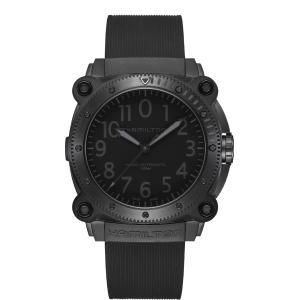 ハミルトン HAMILTON H78505330 カーキ ネイビー ビロウゼロ チタニウム オート 正規品 腕時計|tokeikan