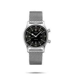 ロンジン LONGINES L3.374.4.50.6 ヘリテージ レジェンドダイバー 正規品 腕時計 tokeikan