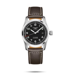 ロンジン LONGINES L3.810.4.53.0 スピリット COSC認定クロノメーター 正規品 腕時計 tokeikan
