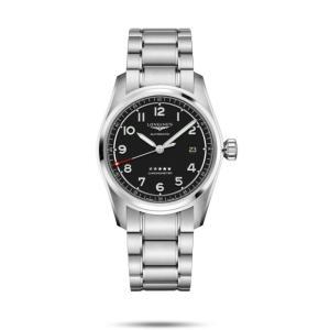 ロンジン LONGINES L3.810.4.53.6 スピリット COSC認定クロノメーター 正規品 腕時計 tokeikan
