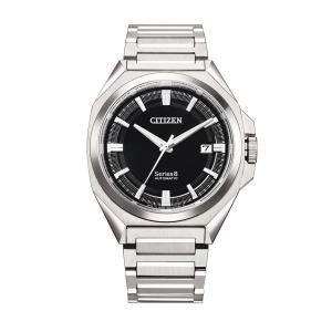 【モバイルアクセサリーケース付き】 シリーズエイト Series 8 シチズン CITIZEN NB6010-81E 831 メカニカル 正規品 腕時計|tokeikan