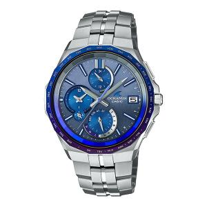 オシアナス OCEANUS カシオ CASIO OCW-S5000AP-2AJF マンタ Bluetooth搭載 Japan Indigo 〜藍〜 世界限定2000本 正規品 腕時計|tokeikan