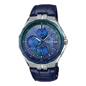 オシアナス OCEANUS カシオ CASIO OCW-S5000APL-2AJF マンタ Bluetooth搭載 Japan Indigo 〜藍〜 世界限定500本 正規品 腕時計|tokeikan