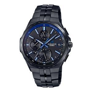 オシアナス OCEANUS カシオ CASIO OCW-S5000B-1AJF マンタ Bluetooth搭載 正規品 腕時計 tokeikan