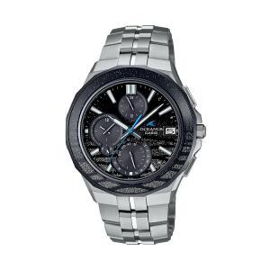 オシアナス OCEANUS カシオ CASIO OCW-S5000ME-1AJF マンタ Bluetooth搭載 蒔絵デザイン 正規品 腕時計|tokeikan