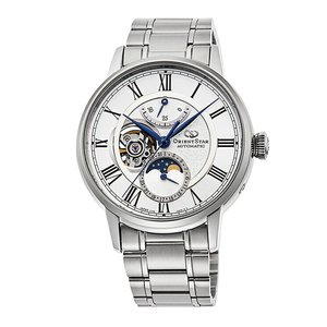 オリエントスター ORIENT STAR RK-AY0102S メカニカルムーンフェイズ 正規品 腕時計|tokeikan