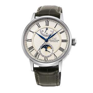 オリエントスター ORIENT STAR RK-AY0108S メカニカルムーンフェイズ プレステージショップ限定 限定200本 正規品 腕時計|tokeikan