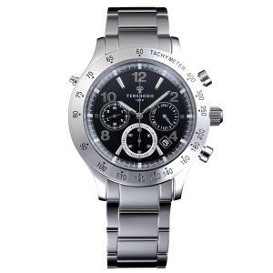 天賞堂オリジナルウォッチ SWC01SS ソーラーウェーブクロノ 正規品 腕時計|tokeikan