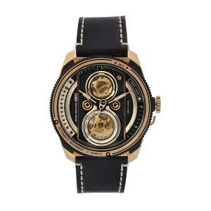 タックス TACS TS2002B ツインレンズ オートマチック レトロゴールド 正規品 腕時計 tokeikan
