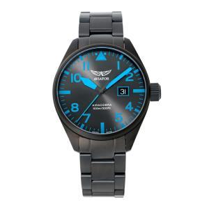 アビエイター AVIATOR V.1.22.5.188.5 エアラコブラ P42 クォーツ 正規品 腕時計|tokeikan