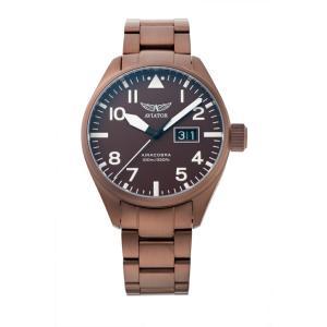 アビエイター AVIATOR V.1.22.8.151.5 エアラコブラ P42 クォーツ 正規品 腕時計|tokeikan