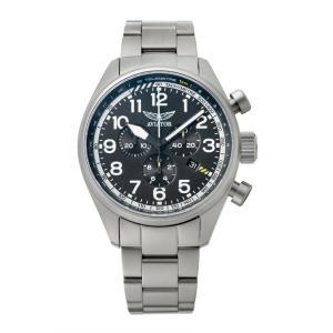 アビエイター AVIATOR V.2.25.0.169.5 エアラコブラ P45 クロノグラフ クォーツ 正規品 腕時計|tokeikan