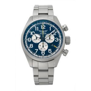 アビエイター AVIATOR V.2.25.0.170.5 エアラコブラ P45 クロノグラフ クォーツ 正規品 腕時計|tokeikan