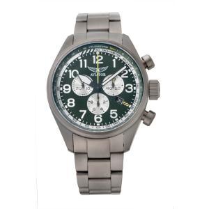 アビエイター AVIATOR V.2.25.7.171.5 エアラコブラ P45 クロノグラフ クォーツ 正規品 腕時計|tokeikan
