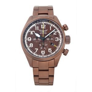 アビエイター AVIATOR V.2.25.8.172.5 エアラコブラ P45 クロノグラフ クォーツ 正規品 腕時計|tokeikan