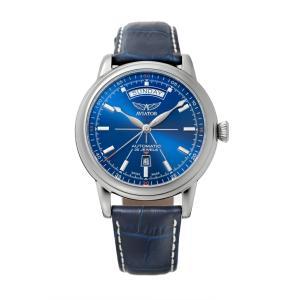 アビエイター AVIATOR V.3.20.0.145.4 ダグラス デイデイト オートマチック 正規品 腕時計|tokeikan