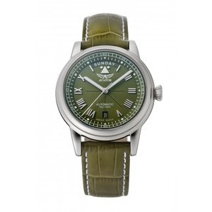 アビエイター AVIATOR V.3.35.0.278.4 ダグラス デイデイト オートマチック 41 正規品 腕時計|tokeikan