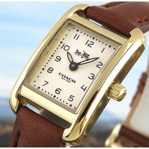 3f76c931dc ... COACH コーチ 14502297 海外モデル THOMPSON トンプソン アナログ レディース 腕時計 ブランド ウォッチ 茶 ブラウン  金 ゴールド ...