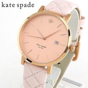 KateSpade ケイトスペード 1YRU0845 海外モデル アナログ レディース 腕時計 ピンク 金 ピンクゴールド 革バンド レザー|tokeiten
