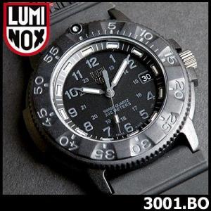 ルミノックス LUMINOX ミリタリー 3001.Blackout ブラックアウト ネイビーシールズ ウレタン メンズ 腕時計 ルミノックス LUMINOX|tokeiten