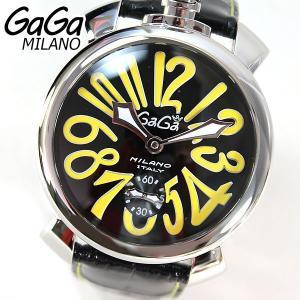 GAGA MILANO ガガミラノ 5010.12S メンズ 腕時計 時計 ラグジュアリー MANUALE 48MM マヌアーレ 海外直輸入モデル|tokeiten