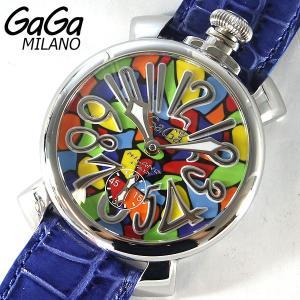ガガミラノ GAGA MILANO 5010.MOSAICO1 GAGAMILANO メンズ モザイク 腕時計 手巻き|tokeiten