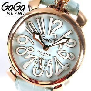 GAGA MILANO ガガミラノ メンズ 腕時計 5011.03S ラグジュアリー MANUALE 48MM マヌアーレ 海外直輸入モデル|tokeiten