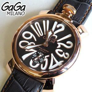 ガガミラノ GAGA MILANO 腕時計 時計 5011-07S 手巻き tokeiten