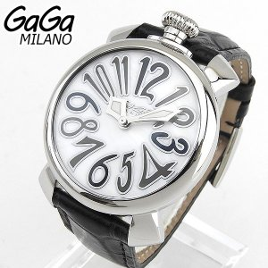 GAGA MILANO ガガミラノ 5020.5 腕時計 MANUALE 40MM マヌアーレ 海外直輸入モデル レザーベルト 新品|tokeiten