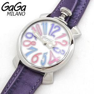 5020.7 GAGA MILANO ガガミラノ レディース 腕時計 ラグジュアリー MANUALE 40MM マヌアーレ レザー 新品|tokeiten