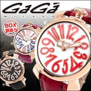 GAGA MILANO ガガミラノ 選べる4種類 レディース 腕時計 MANUALE 40MM マヌアーレ レッド ピンク ブラウン レザー 新品|tokeiten
