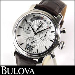 Bulova ブローバ AccutronAmerigo アキュトロンアメリゴ 63C108 腕時計 時計 新品 アナログ クオーツ シルバー ダークブラウン メンズ|tokeiten