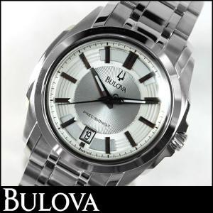 Bulova ブローバ 腕時計 メンズ ウォッチ 96B130 シルバー 並行輸入品|tokeiten