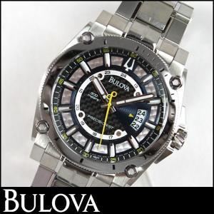 Bulova ブローバ Precisionist プレシジョニスト Champlain シャンプレーン 腕時計 メンズ ウォッチ 96B131 並行輸入品|tokeiten