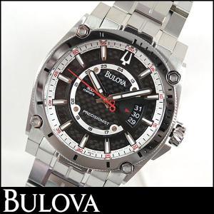 Bulova ブローバ Precisionist プレシジョニスト Champlain シャンプレーン 腕時計 メンズ ウォッチ 96B133 並行輸入品|tokeiten