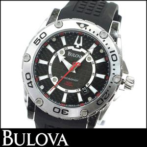 Bulova ブローバ Precisionist プレジョニスト 96B155 海外モデル メンズ 腕時計 新品 時計 ブランド ウォッチ アナログ シルバー ブラック 黒|tokeiten
