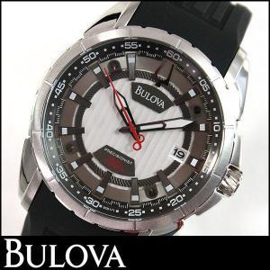 Bulova ブローバ 腕時計 メンズ ウォッチ 96B171 ブラックラバー 黒 並行輸入品|tokeiten