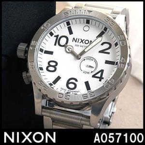 ニクソン NIXON 腕時計 メンズ THE 51-30 A057100 A057-100 ホワイト ダイバーズウォッチ|tokeiten